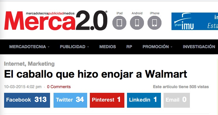 ejemplo revista merca 2.0