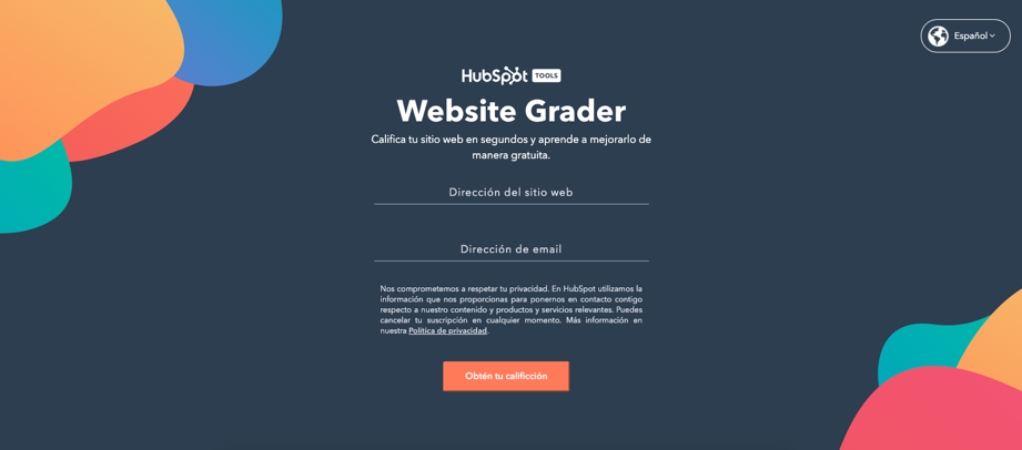 ejemplos-content-marketing-hubspot-website-grader