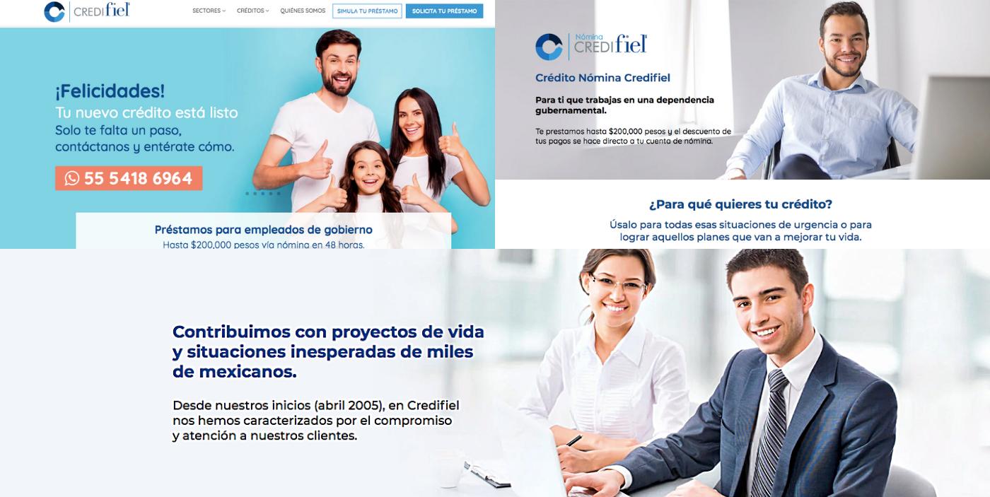 Credifiel aumenta 6% su tasa de conversión de visita a contacto